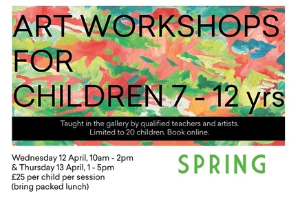 Art Workshop for Children 7-13 yrs