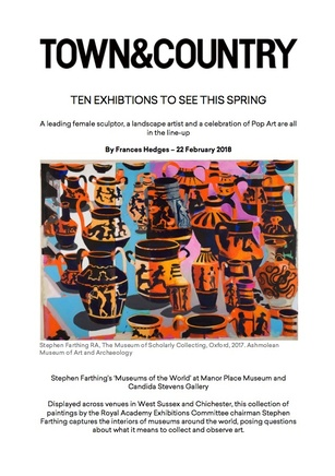 Ten Exhibitions To See This Spring, Stephen Farthing's Museums of the World