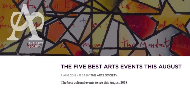 The Five Best Arts Events This August featuring Stephen Farthing