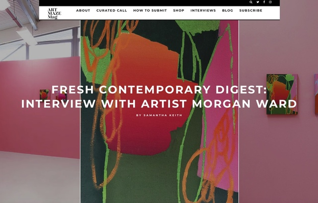 Fresh Contemporary Digest: Interview with Morgan Ward