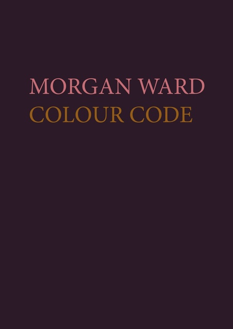 Morgan Ward Colour Code Exhibition catalogue